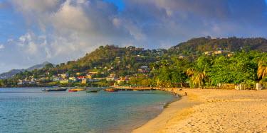 GN01039 Caribbean, Grenada, Grand Anse Bay, Grand Anse Beach