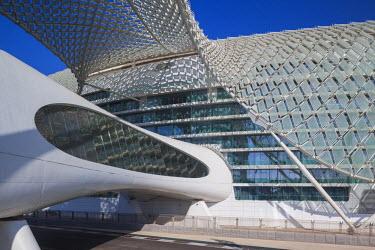 UE02268 UAE, Abu Dhabi, Yas Island, Viceroy Hotel