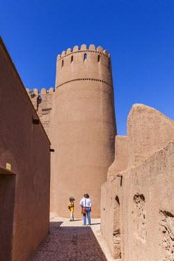 IR01177 Iran, Southeastern Iran, Rayen, Arg e Rayen, ancient adobe citadel