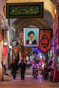 IR01250 Iran, Central Iran, Esfahan, Bazar-e Bozorg market, interior