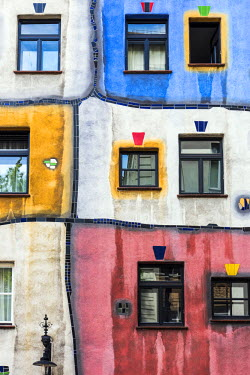 AUT0816AW Hundertwasserhaus, Vienna, Austria