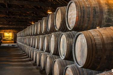 POR8996AW Offley wine cellars, Vila Nova de Gaia, Porto, Portugal