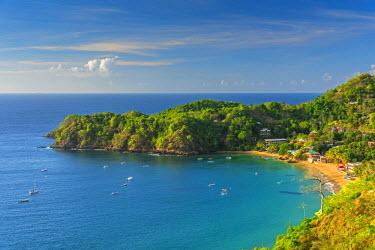 TT018RF Caribbean, Trinidad and Tobago, Tobago, Castara Bay, Castara