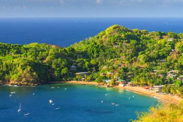 TT019RF Caribbean, Trinidad and Tobago, Tobago, Castara Bay, Castara
