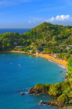 TT020RF Caribbean, Trinidad and Tobago, Tobago, Castara Bay, Castara
