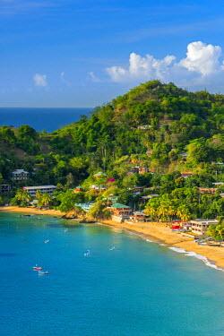 TT021RF Caribbean, Trinidad and Tobago, Tobago, Castara Bay, Castara