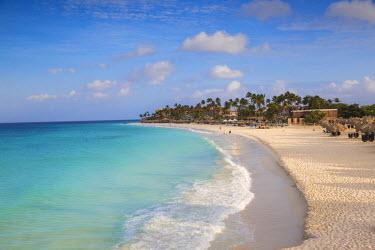 AA01114 Caribbean, Netherland Antilles, Aruba, View of Divi beach