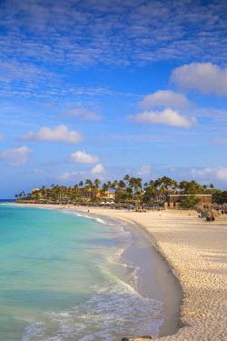 AA01119 Caribbean, Netherland Antilles, Aruba, View of Divi beach