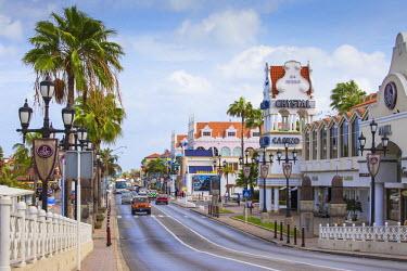 AA01121 Caribbean, Netherland Antilles, Aruba, Oranjestad, Renaissance mall and casino