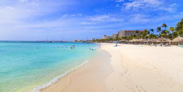 AA01130 Caribbean, Netherland Antilles, Aruba, Palm beach