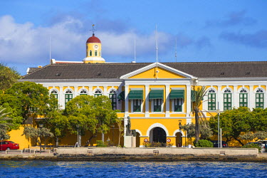 CC01126 Curacao, Willemstad, Punda, Fort Amsterdam, Governor's Palace and Fort Church museum
