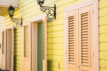 CC01138 Curacao, Willemstad, Otrobanda, Kura Hulanda Hotel