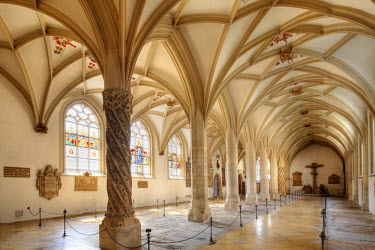 IBLMAN01616145 Mortuary at the Cathedral, Eichstaett, Altmuehltal, Upper Bavaria, Bavaria, Germany