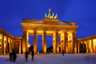 IBLSHU01794537 Brandenburg Gate, Berlin, Germany
