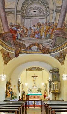 IBLHAN00723078 Church in Furth, Triestingtal, Lower Austria, Austria