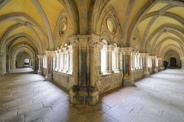 IBLHAN01434330 Cloister, Stift Zwettl Cistercian monastery, Waldviertel region, Lower Austria, Austria