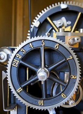 IBLHAN03240937 Clockwork in the Museum Kirchschlag, Kirchschlag in der Buckligen Welt, Lower Austria, Austria