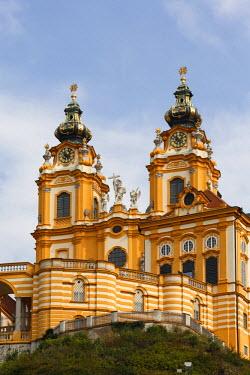 IBLMAN01015111 Melk Monastery, Wachau, Lower Austria