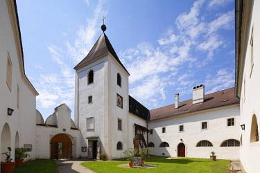IBLMAN01681116 Former Servite monastery Schoenbuehel, Wachau, Mostviertel quarter, Lower Austria, Austria