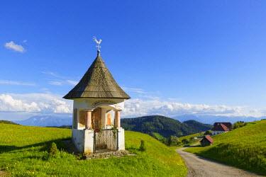 IBLMAN03667534 Wayside shrine, Saualpe mountain pasture, Diex, Carinthia, Austria