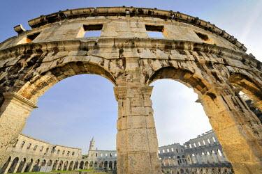 IBLHAN01399640 Roman amphitheatre of Pula, Croatia