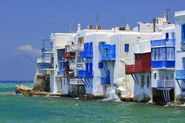 IBLGZS00897995 View of Little Venice, Mykonos Island, Cyclades, Greece