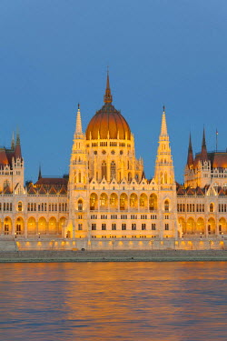IBLDOB03770855 Parliament, Danube River, Budapest, Hungary