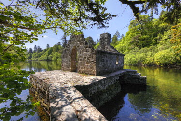IBLMAN01647976 Monk's Fishing House, Cong Abbey, County Mayo and Galway, Connacht, Republic of Ireland