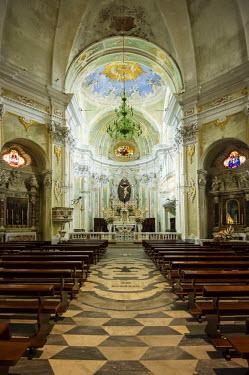 IBLDJS03807898 Baroque church of San Matteo, Laigueglia, Liguria, Italy