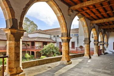 IBLCGH00217653 Cloister in the Convento de Santa Clara, Funchal, Madeira, Portugal