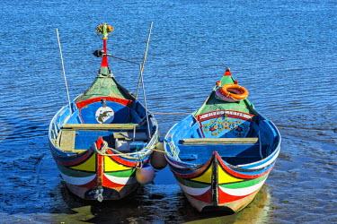 IBLGAB03806631 Colorful boats, Torreira, Centro region, Portugal