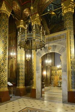 IBLHAN01844543 Episcopal church or abbey, Bisterica Manastiri, Curtea de Arges, Wallachia region, Romania