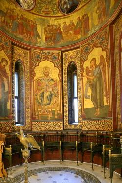 IBLHAN01844546 Episcopal church or abbey, Bisterica Manastiri, Curtea de Arges, Wallachia region, Romania