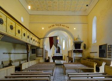 IBLHAN01845625 Fortified church of Cincsor, Kleinschenk, Transylvania, Romania