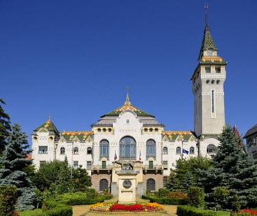 IBLHAN01846734 Art Nouveau Palace of Culture, Targu Mures, Mure? County, Transylvania, Romania