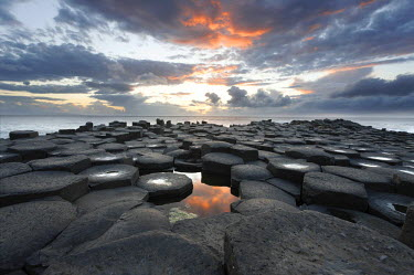 IBLCGH00162832 Giant's Causeway, County Antrim, Northern Ireland