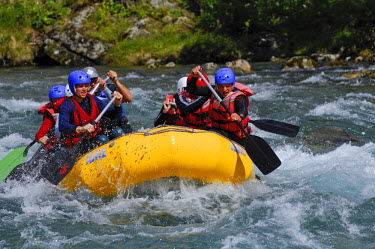 IBLGZS00740770 Whitewater rafting, Norway, Scandinavia