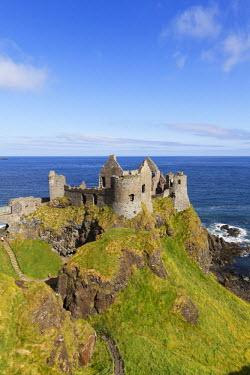 IBLMAN02139332 Dunluce Castle, Antrim Coast, County Antrim, Northern Ireland, Great Britain