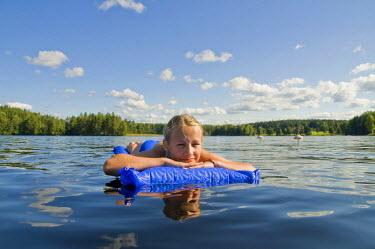 IBLDJS01832998 Lake near Bengtsfors, Central Sweden, Sweden