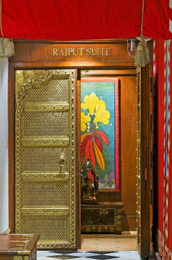 IBLOMK01929702 Entrance to the Raput Suite, Taj Mahal Hotel, Colaba district, Mumbai, Maharashtra, India