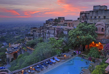 Heritage Hotel Neemrana Fort, Rajasthan, North India, India