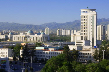 IBLGAB01108414 Administrative and residential buildings, Ashgabat, Turkmenistan