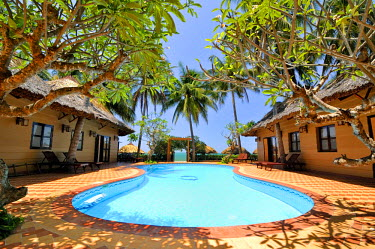 IBLGZS01210797 Swimming pool of the Lucy-Resort, Mui Ne, Vietnam