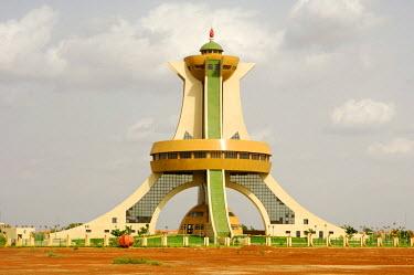 IBLGUF00281726 Memorial to the Martyrs, Ouagadougou, Burkina Faso, Africa