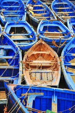 IBLGIV02445060 Fishing boats, Essaouira, Morocco, Africa