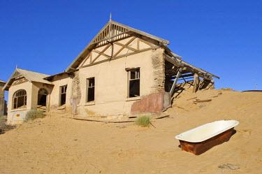 IBLHAN01066696 Former teacher's house in Kolmanskop, Namibia, Africa