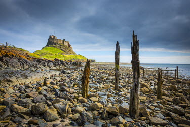 UK07861 Lindisfarne, Holy Island, Northumberland, England, UK