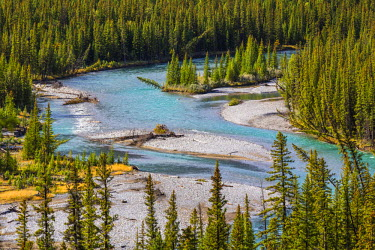 INT01108613 Canada, conjure Viewpoint, Bow River, Banff national park, Alberta,