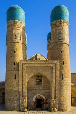 CLKSL46427 Bukhara, Uzbekistan, Central Asia. Chor-Minor Madrasah.
