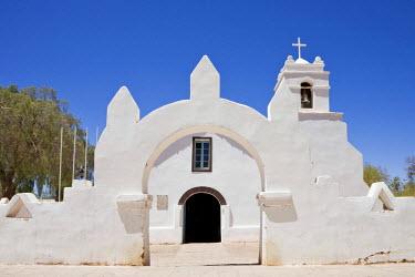 IBLHAN00603840 Iglesia San Pedro church in San Pedro de Atacama, Region de Antofagasta, Chile, South America